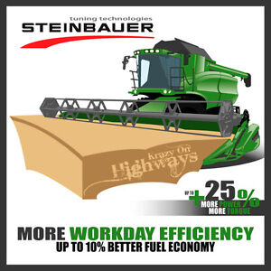Boost your John Deere's power and torque by up to 25%