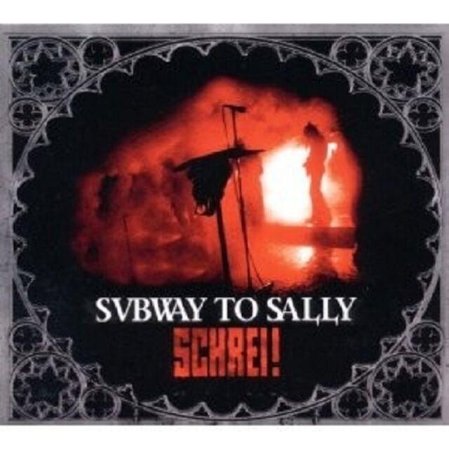 """SUBWAY TO SALLY """"SCHREI/ENGELSKRIEGER..."""" CD+DVD NEU"""