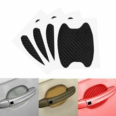 Carbon Fiber Car Door Handle Protector Film Anti-Scratch Stickers Accessories US Car & Truck Parts
