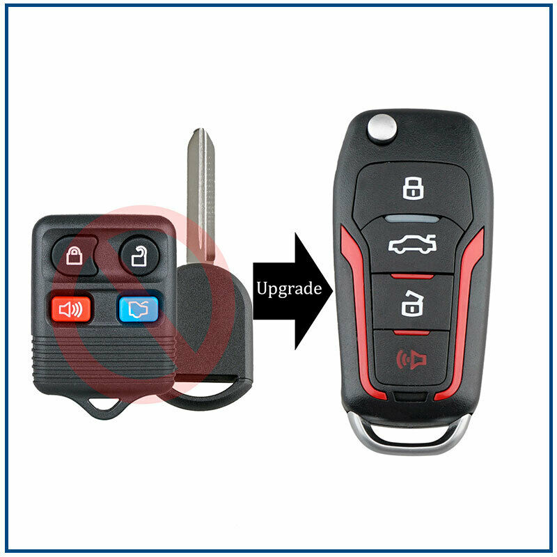 New Replacement Flip Key for Assorted Vehicles Including F150 Explorer Escape CanadaAutomotiveSupply /©