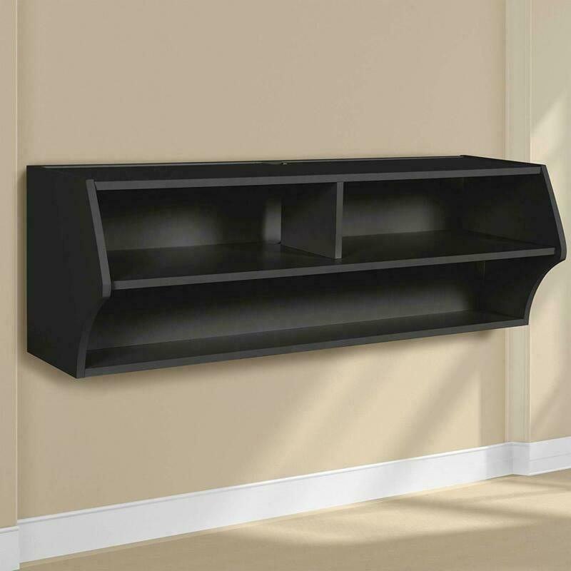 Prepac Bcaw-0200-1 Altus Wall Mounted Audio/Video Console, 4