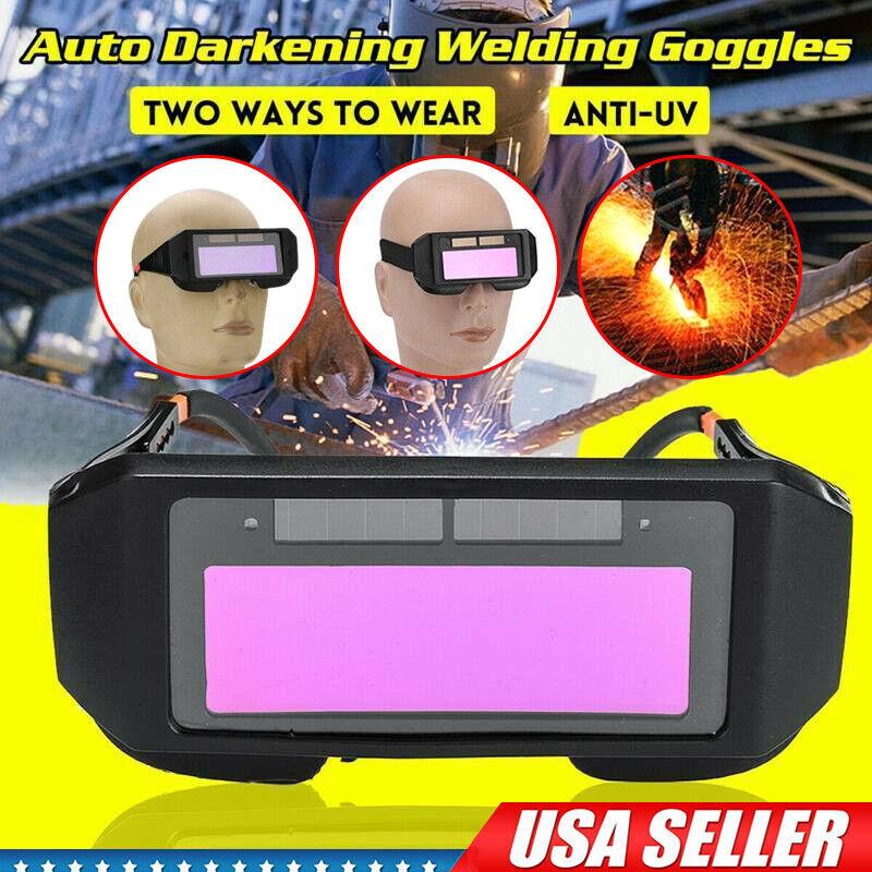 Welder Glasses Mask Solar Powered Auto Darkening Welding Helmet Eyes For Welding