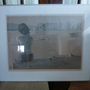 Art Picture Lithograph Raymond Chow Signed Numbered Canadian