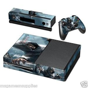 Xbox-ONE-Assassin-039-s-Creed-Console-Skin-Decal-Sticker-3M-ULTRA-HIGH-QUALITY