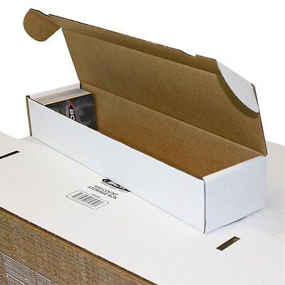 Lot Of 50 Small White Cardboard Shipping Boxes - 16 12 X 3 34 X 2 34