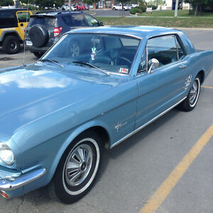 1966 Mustang Coupe - 3 speed - 200 ci - Reduced Fall  Price !