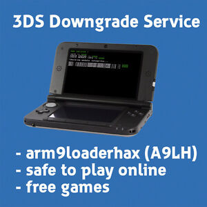 3DS Downgrade/Downgrading/Hacking Service - A9LH Installation