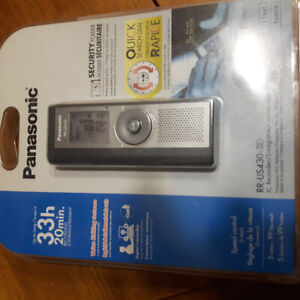 Voice recorder new in package.