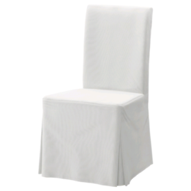 IKEA cream chair covers