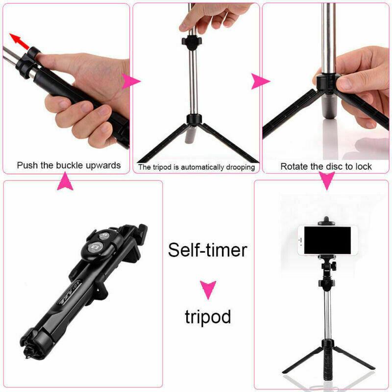 Wireless Selfie Stick Tripod 4in1 Selfie Stick with Wireless