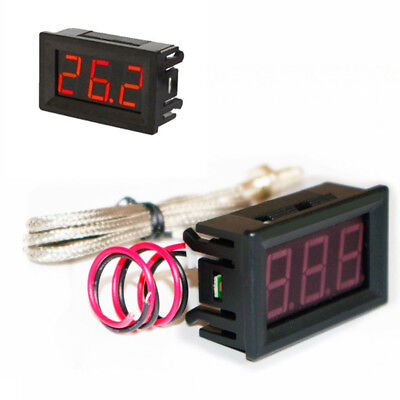 K-type Thermometer High Temperature Tester With Led Digital Display M6 Probe