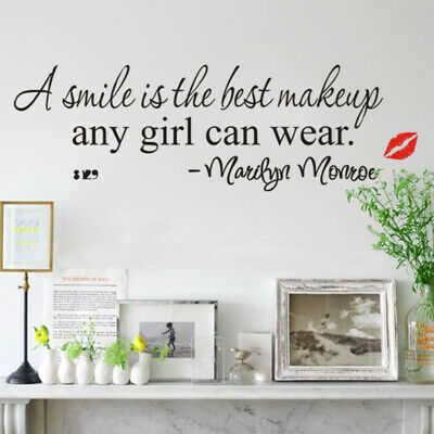 Good Design A Smile Is The Best Makeup Home Decoration Wall Sticker DIY (Best Modern Home Designs)