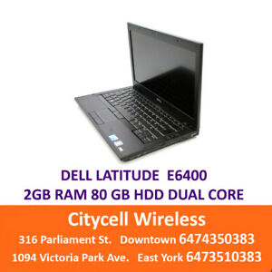 DELL LATITUDE 80GB HDD 2GB RAM $149