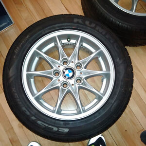 16 in BMW Rims with Kumho Tires