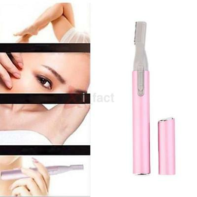 Electric Eyebrow Face Hair Removal Trimmer Shaver Clipper Cleaner Removal US