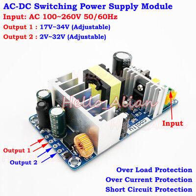 Ac-dc Converter 110v 220v To 5v 12v 24v Adjustable Switching Power Supply Module