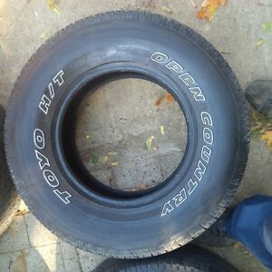 4- 285/70r/17 toyo open country at tires Cambridge Kitchener Area image 1
