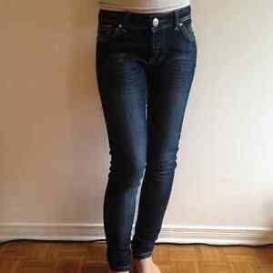 Candy Couture Size 9 Tight Fitting Blue Jeans