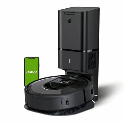 iRobot® Roomba® i7+ (7550) Wi-Fi® Robot Vacuum with Automatic Dirt...