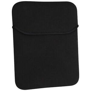 Black-Soft-Neoprene-Sleeve-Case-Cover-Pouch-Bag-For-Apple-Samsung-10-Tablet