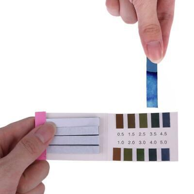 80 Strips Ph Alkaline Short-range 0.5-5.0 Indicator Litmus Paper Ph Test Strips
