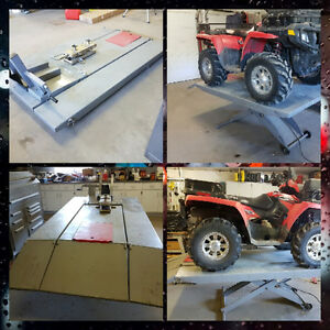 Atv/Motorcycle/Lawn Tractor Lift