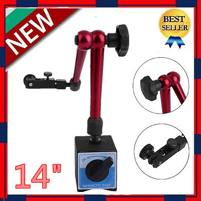 14 Magnetic Base Holder For Digital Level Dial Test Indicator Tool With Stand