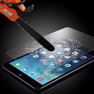 Tempered glass for iPad and Samsung Galaxy tablets