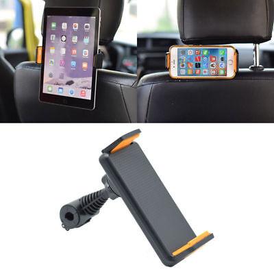 "360˚ Rotating Headrest Car Back Seat Mount Holder Stand For Phone Tablet 4""-10"""