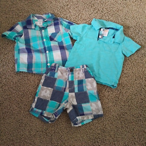 Gymboree infant boys outfit 12-18 months
