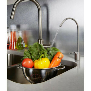 Water Counter Spout/Faucet in brushed nickel
