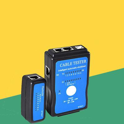 Rj45 Rj11 Cat5e Cat6 Usb Plug Printer Network Lan Cable Tester Test Tool