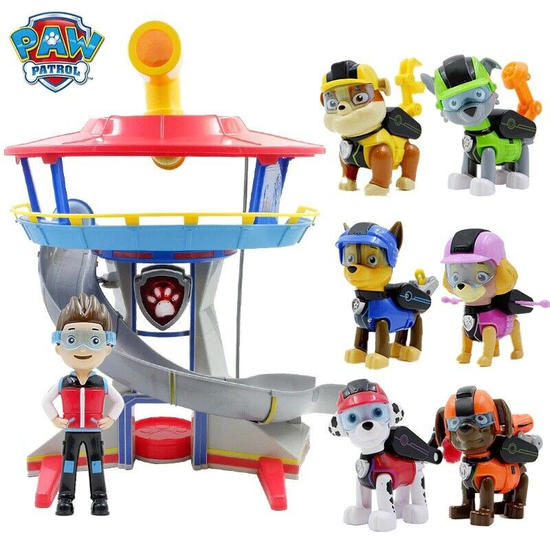 Paw Patrol Observatory Playset set toy for car model ride Pa