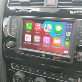 Vw audi sat nav apple carplay android auto