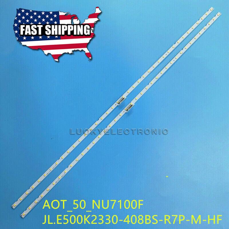 LED strip(2) for Samsung UN50NU6900 UE50NU7400 UE50NU7020 UE50NU7090 UE50NU7450