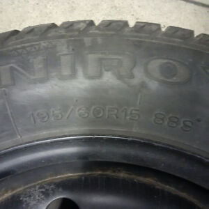 Snow Tires on Rims for Honda Civic Oakville / Halton Region Toronto (GTA) image 3