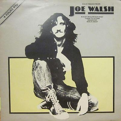 "Joe Walsh(12"" Vinyl)Four Tracks From-abc-ABE 12002-UK-VG/VG"
