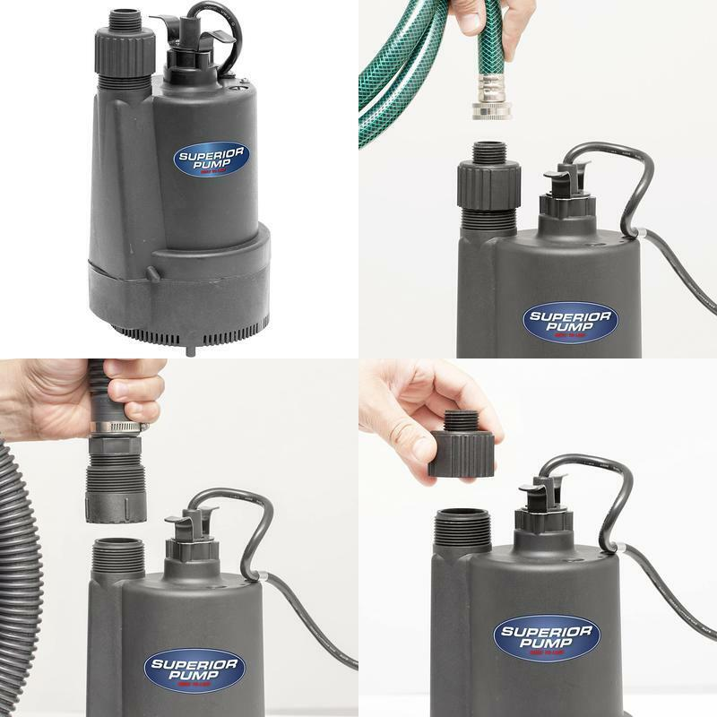 91330 1 3 thermoplastic submersible utility pump