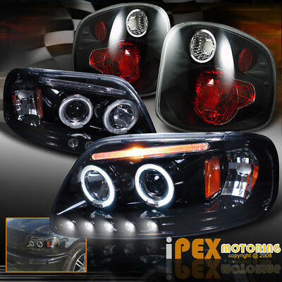 Tail Light King (01-03 F150 Lightning King Ranch Harley Davidson Projector Headlight + Tail)