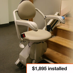 Stair Lifts – Starting at $1,895 -  Installation Included!