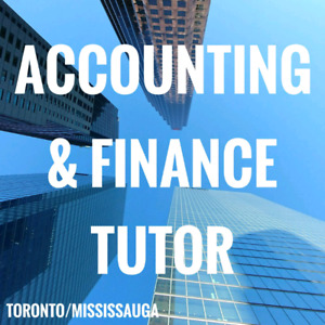 Accounting & Finance Tutor for only $25/hr