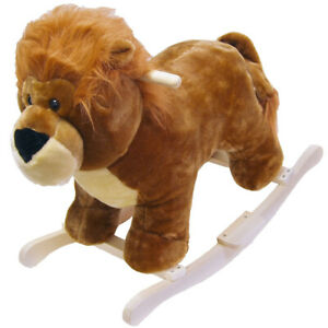 *NEW* Happy Trails Lion-Plush Rocking Animal-Child Riding Horse