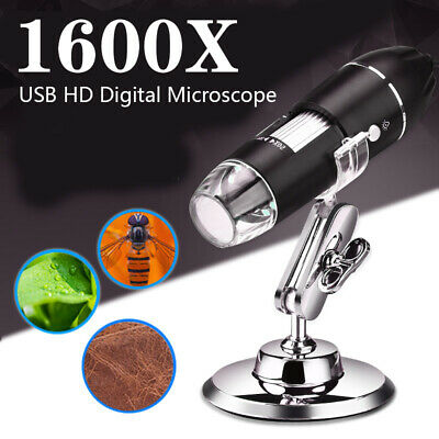 10001600x Microscope Digital Wifi Zoom Handheld 5mp Camera 8led Light Magnifier