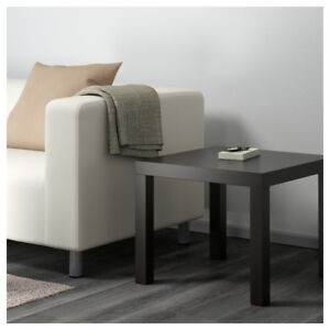 IKEA LACK Side table - black-brown - Mint Condition