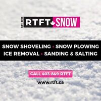 RTFT Residential and Commercial Snow Removal