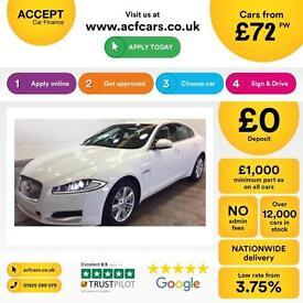 Jaguar XF FROM £72 PER WEEK!