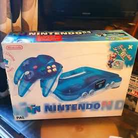 N64 console boxed