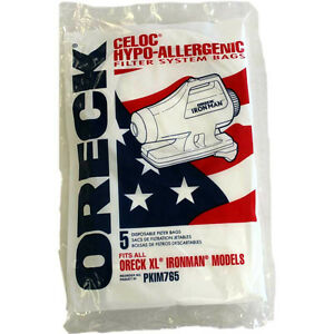 Genuine Oreck Xl Hypo Allergenic Ironman Canister Vacuum