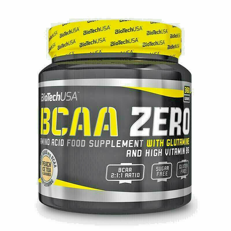 Biotech USA BCAA Zero 360g Dose Aminosäuren BCAAs + L-Glutamin