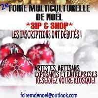 Foire multiculturelle de Noel 2e édition